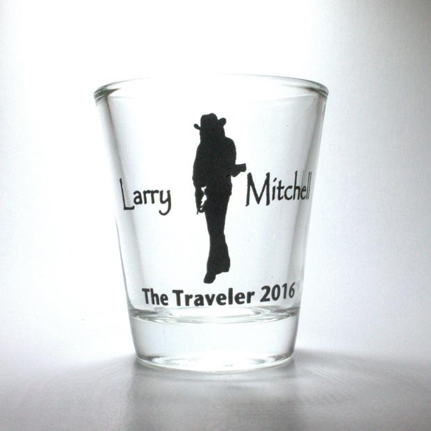 Shot Glass Larry Mitchell