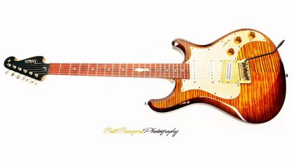 Knaggs Sevren with Custom Larry Mitchell Inlay 08.2014 - Perfection