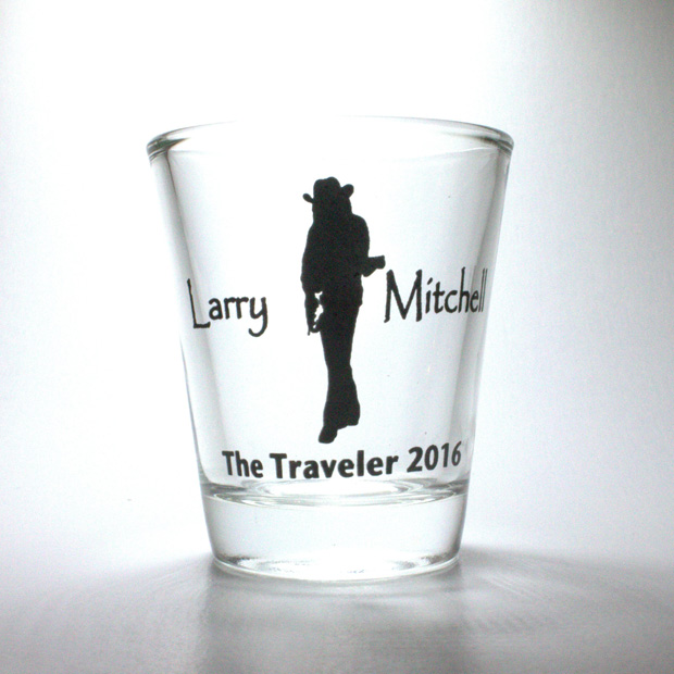 Shot Glass Larry Mitchell