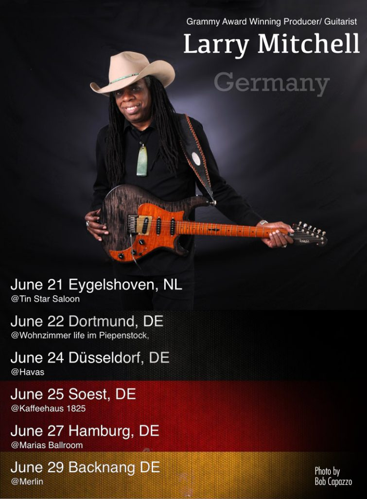 Larry Mitchell Germany Tour 2019