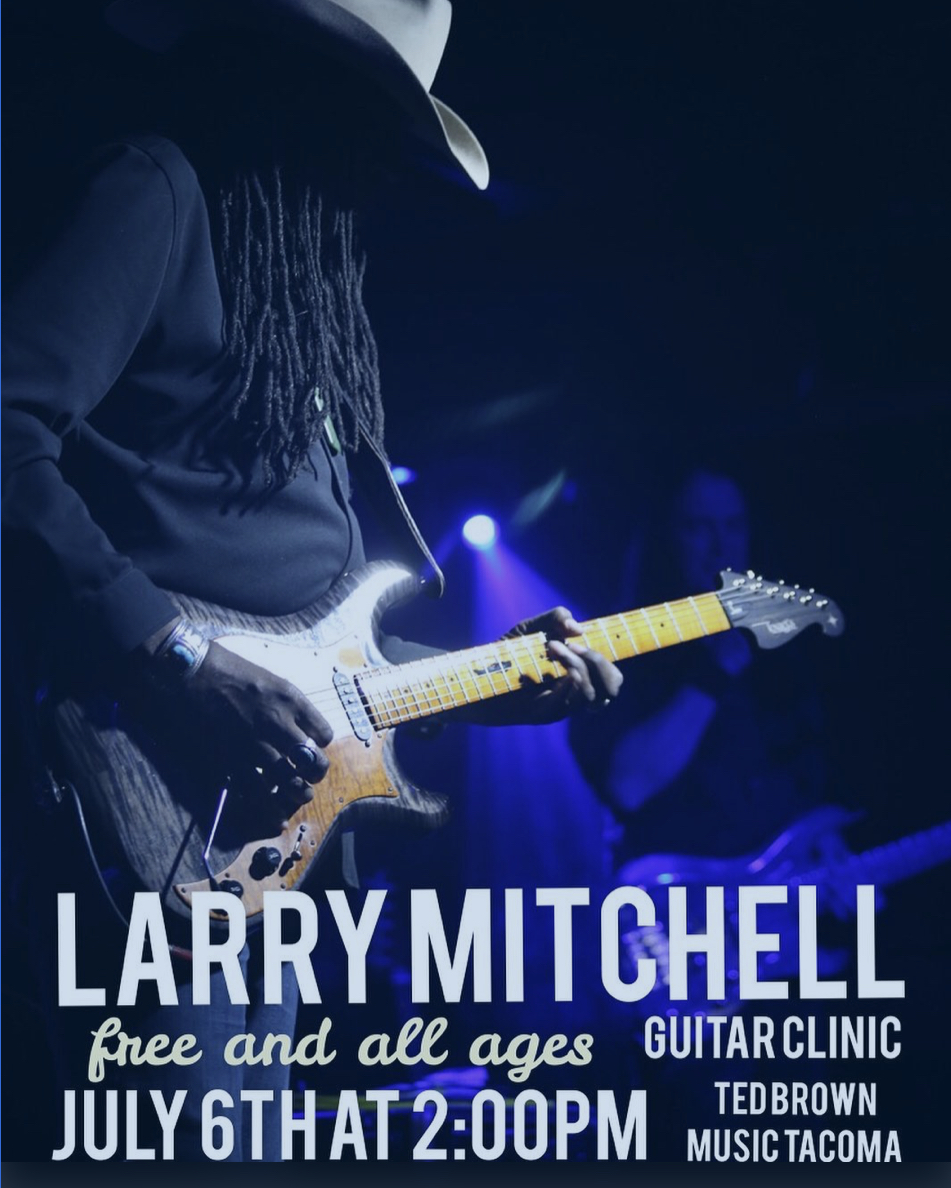 Larry Mitchell Guitar Clinic at Ted Brown Music