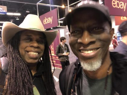Larry Mitchell NAMM 20 with Keb' Mo'